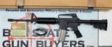 PRE-BAN Colt AR-15 A2 Government Carbine ~ GREEN LABEL w/ BOX ~ 1980's