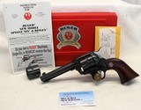 Ruger Single Six Convertible 50th ANNIVERSARY .22LR/.22 Win Mag FACTORY NEW