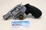 "Colt MAGNUM CARRY .357 Revolver ~ Stainless ~ 2 1/4"" Barrel - 1 of 15"