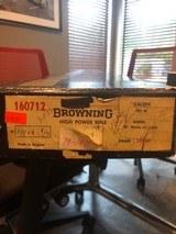 Browning, Safari, 24 inch Heavy Barrel, 243 Win
