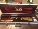 Krieghoff, K20 Gold Standard Scroll, 20/28 Gauge