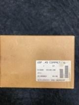 Heckler & Koch, USP 45 Compact V1, .45 ACP