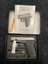 SCCY Industries, Model CPX1 TT, 9mm