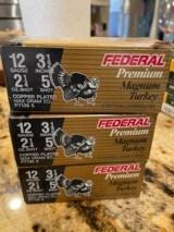 Federal Premium Magnum Turkey, 12 Gauge, 3 1/2 Inch # 5 Shot