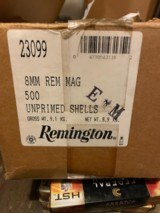 Remington, 8mm Magnum Brass, New