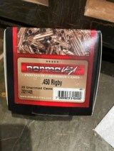 Norma, .450 Rigby Brass, Box of 25