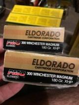 """PMC Eldorado, .300 Win Mag, 180 gr Barnes """"X"""" Bullet"""