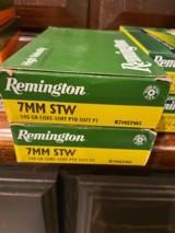 Remington, 7mm STW, 140 gr Core-Lokt soft point