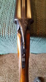 Ithaca. Model Flues grade 1 1/2. SxS boxlock shotgun. - 11 of 12