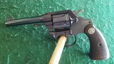 colt. model police positive second model revolver