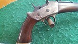 Remington Rolling Block Target Pistol. - 6 of 13