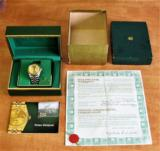 Rolex Classic Datejust 16013 Two-Tone Gold Jubilee Bracelet with all boxes and papers