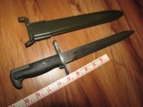 Mint 1943 M1 Garand Bayonet AFH & Sheath - 4 of 8