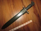 Mint 1943 M1 Garand Bayonet AFH & Sheath - 8 of 8
