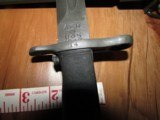 Mint 1943 M1 Garand Bayonet AFH & Sheath - 3 of 8