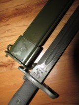 Mint 1943 M1 Garand Bayonet AFH & Sheath - 7 of 8