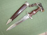 Outstanding German SA Dagger with Hangers