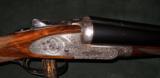 THE WATTS GUN, LONDON MFG, BAR ACTION SIDELOCK 12GA S/S SHOTGUN - 1 of 6