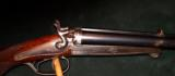 HUSQVARNA RARE ISLAND SIDELOCK HAMMER CAPE GUN, 12.7 X 44R & 16GA- 1 of 5