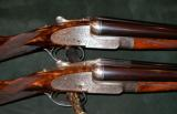 HOLLAND & HOLLAND MATCHED PAIR OF 12GA ROYAL EJECTORS