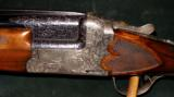 JOS DEFOURNY IMPERIAL CROWN GRADE SCALLOPED BOXLOCK 12GA O/U SHOTGUN - 2 of 5