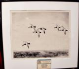 ORIGINAL ETCHING BY ROLAND CLARK TITLED: