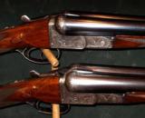 COGSWELL & HARRISON THE REX MODEL BOXLOCK 12GA PAIR SHOTGUNS - 1 of 7