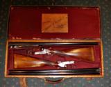 COGSWELL & HARRISON THE REX MODEL BOXLOCK 12GA PAIR SHOTGUNS - 6 of 7