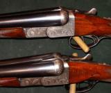 COGSWELL & HARRISON THE REX MODEL BOXLOCK 12GA PAIR SHOTGUNS - 2 of 7