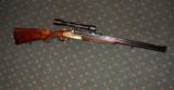 URBAS VINZENZ SIDEPLATE BLITZ ACTION DRILLING/COMBINATION GUN, 16GA/8 X 57JR, 22 MAG - 4 of 5