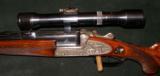 URBAS VINZENZ SIDEPLATE BLITZ ACTION DRILLING/COMBINATION GUN, 16GA/8 X 57JR, 22 MAG - 2 of 5