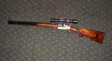 URBAS VINZENZ SIDEPLATE BLITZ ACTION DRILLING/COMBINATION GUN, 16GA/8 X 57JR, 22 MAG - 5 of 5