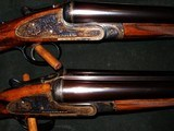 JOSEPH LANG & SONS MATCHED PAIR BEST QUALITY SIDLOCK 12GA SHOTGUNS - 1 of 5