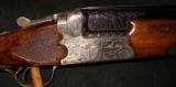 JOS DEFOURNY IMPERIAL CROWN GRADE SCALLOPED BOXLOCK 12GA O/U SHOTGUN