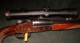 HARALD WOLF HOLLAND & HOLLAND STYLE SIDELOCK 416 RIGBY DBL RIFLE - 2 of 5