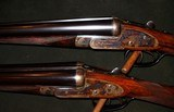 """HENRY ATKIN BEST QUALITY SIDELOCK 12GA """"MARRIED PAIR BY ATKIN - 3 of 7"""