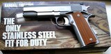 RANDALL FIREARMS, STAINLESS STEEL SERVICE MODEL A 131, 45 ACP - 5 of 5