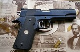 COLT 1911 SERIES 80 NATIONAL MATCH MK IV 45 CAL PISTOL