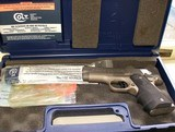 COLT 1998 DEFENDER LIGHTWEIGHT SERIES 90 MATTE STAINLESS 45 CAL PISTOL - 5 of 5