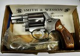 SMITH & WESSON, MODEL 60, .38 CHIEFS SPECIAL STAINLESS REVOLVER