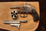 Merwin and Hulbert 38 cal revolver Nickel finish - 7 of 8