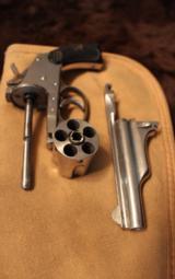 Merwin and Hulbert 38 cal revolver Nickel finish - 8 of 8