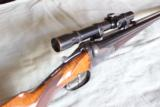 Griefelt Suhl Double Rifle with claw mount scope 45-70 Caliber - 1 of 15
