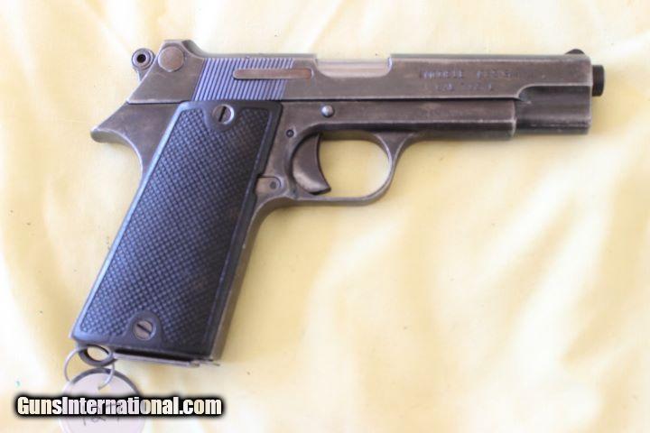 MAC M1935-S M1 French Military Pistol cal 7 65mm, VietNam bring back