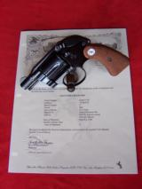 Colt Cobra .38 Special with Shroud from 1968, Like New