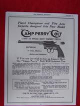 """Colt Camp Perry 10"""" Target Pistol Plus Accessories 99% - 19 of 20"""