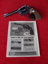 Colt Officers Model Match .22 New Condition