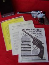 """Colt Camp Perry 8"""" in the Box as New with lots of extras.- 18 of 20"""
