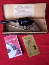 Colt Officers Model Target .38 Caliber with Box & Paperwork
