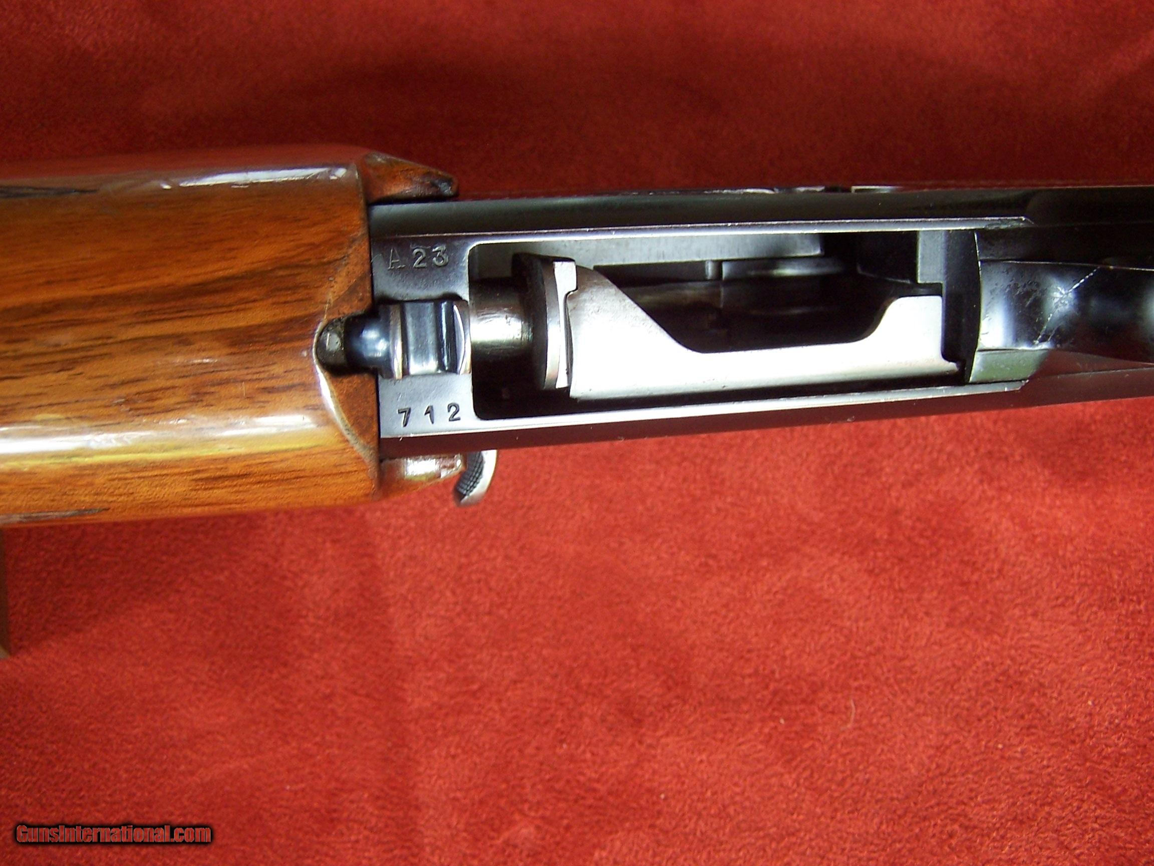 """Browning Double Auto Twelvette 28"""" Channel Rib Barrel from 1958"""
